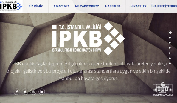 İPKB'nin web sistesini tamamenyeniledik